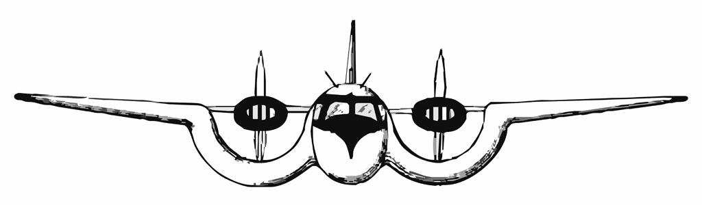 Custer Airplane Design: 1955