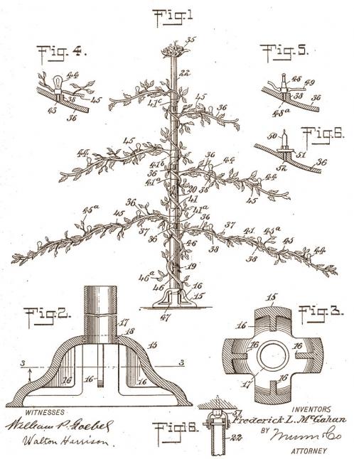 Fireproof Christmas Tree: 1907