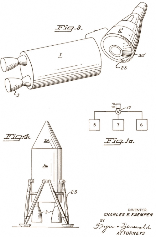 Space Rendezvous Apparatus and Method: 1966