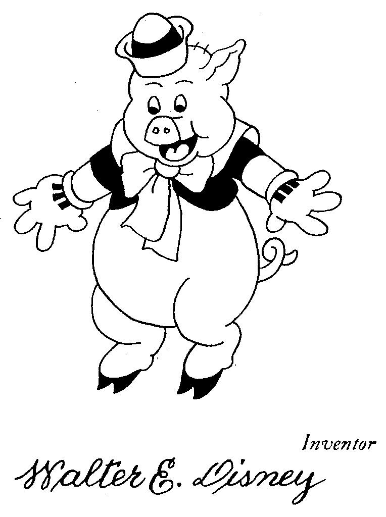 Walt Disney's Pig: 1934