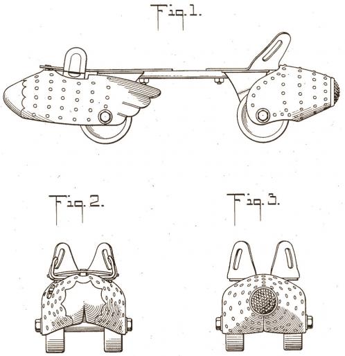 Louis Marx Roller Skates