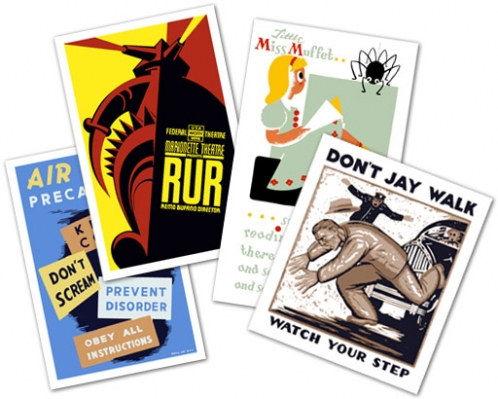 Vintagraph: WPA Art, Posters and More